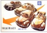 Alte VW Werbung