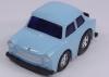 Trabant 601 mit Rückzugsantrieb blau